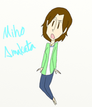 Miho Amakata by creamcheesecheckers