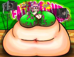 Fatty Cakes Mascot 2 by DarkmasterN