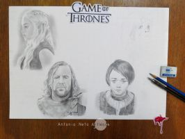 Game of Thrones in progress - Characters by AntonioNT