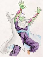 Piccolo attack by gensomaden-saihumis