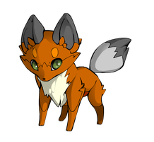 A normal fox cub by melimoo230