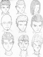 guy faces.. by bloodlust-katana