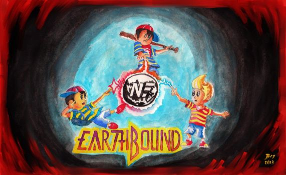 Earthbound Nintendo Force by neojedi17
