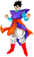 Mystic/Ultimate Gohan by alexiscabo1