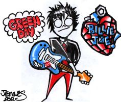 GREEN DAY! BILLIE JOE! by XBlackFerretX
