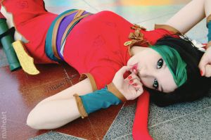 Jinx Firecracker cosplay - League of Legends 2 by MelodyxNya
