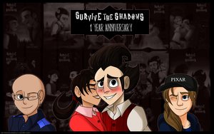 Survive the Shadows 1 Year Anniversary by Aileen-Rose