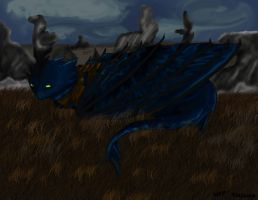 :HTTYD:Toothless protecting by sapphirewolf2