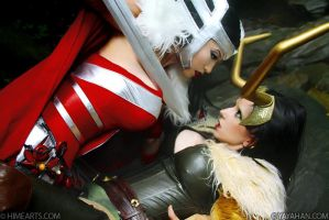 Sif and Loki - Marvel's Thor by yayacosplay