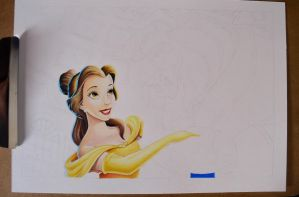 Beauty and the Beast - WIP by LabrosseN