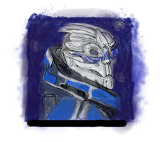 Garrus by monthgirl