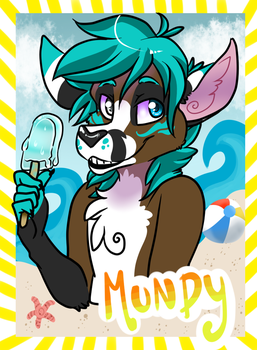 Summer Badge by Kneel4Loki13