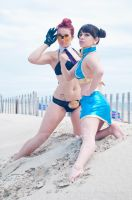 Street Fighter Beach Edition by miss-gidget