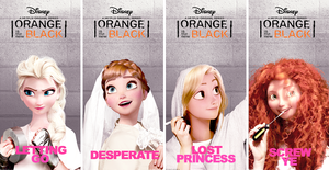 Four Seasons - OITNB by muttonfudge