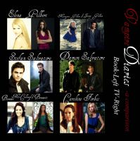 Vampire Diaries- A Comparison by QueenMJR