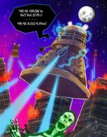 Dalek Invasion by VoipComics