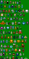 My Custom Robot Masters by mike1967-now