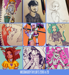 My 2016 in 2D by MissMaddyTaylor