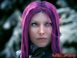 elf-love 2015 version by MaskDemon
