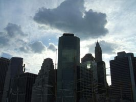 Lower Manhatten sky by HIMfanatic5