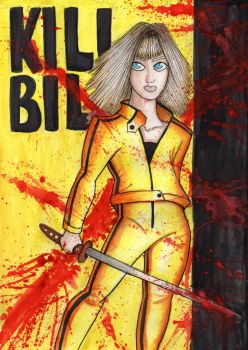 Kill Bill: Beatrix Kiddo by uumbrella