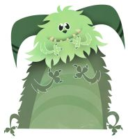 Daily Monster 10th October by See-past-the-madness