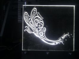 Princess Luna moth engrave by megagad by Silverarrow87