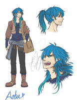 AU Aoba by PunyMusketeer