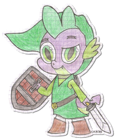The Legend Of Spike by chibi95