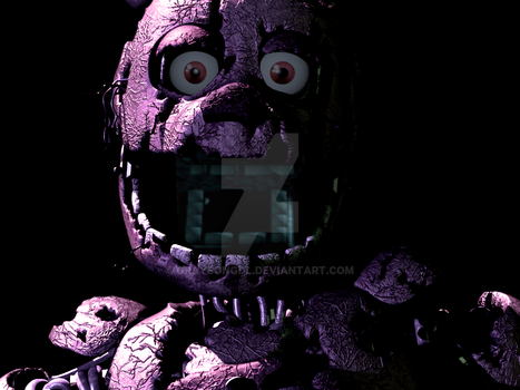 FNaF Edit: Spring Not-Spring Bonnie by Graysongdl