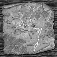 The Maps of Santharia: The Silvermarshes by Artimidor