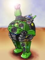 Fat Music Bot by grabbelfant