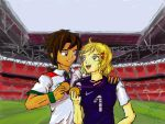 On Wembley Stadium by IsisHiwatari