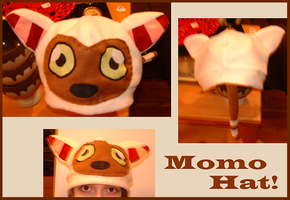 I HAS A MOMO HAT. by CubieJ