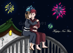 .:Happy New Year 2012:. by Gabychan91