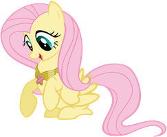 Fluttershy Kindness Necklace by Ryoki-Fureaokibi