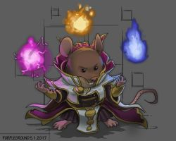 [COMMISSION] Invoker Mouse by Purpleground02