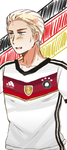 [Hetalia] - Germany - World Cup by Shiunee