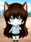 .: Chibi!KittyNaomi :. by thebigblackdevil5