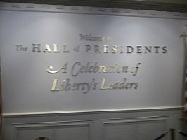The Hall of Presidents by blunose2772