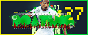 Kevin Prince Boateng #27 by cannabis97