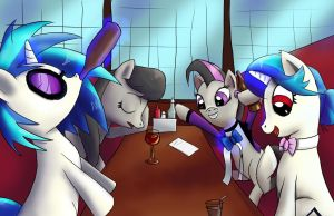 Double Date by Fox-Moonglow