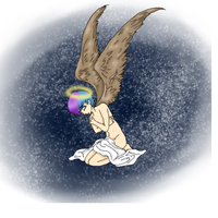 Tears of an Angel by GillyRainbows