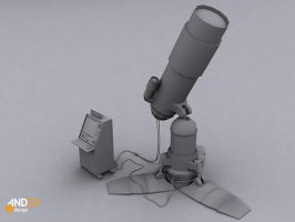 3d telescope models by AndexDesign