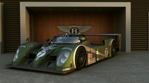 Bentley 2003 Speed 8 #7 Team Bentley by melkorius