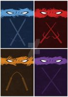Tmnt Prints! by JustMick