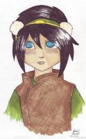 Toph for moony-pl00shie by CaptainOscillator