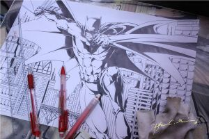 Drawing The BAT by tsart