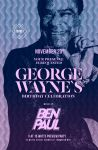 flyer for GEORGE WAYNE bday party NYC by sounddecor