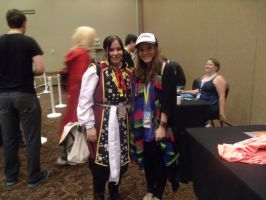 Cherami Leigh and I - Colossalcon 2014 by albertxlailaxx